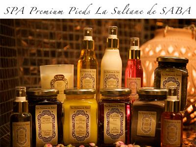 SPA Premium Pieds La Sultane de SABA